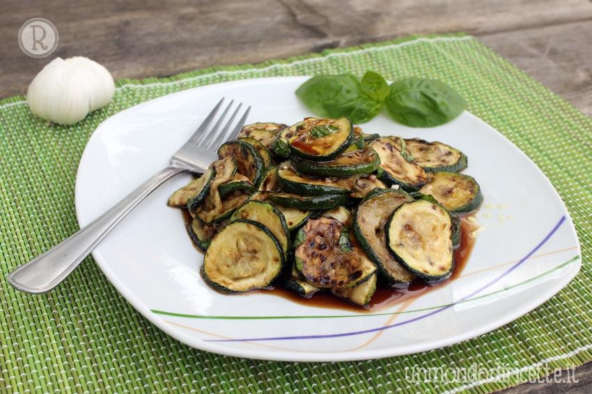 Zucchine grigliate alla scapece